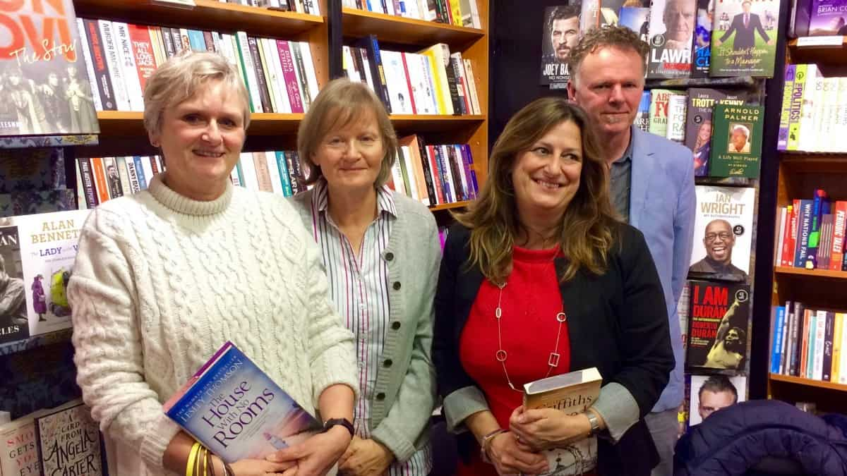Lesley Thomson, author of A Kind of Vanishing and the